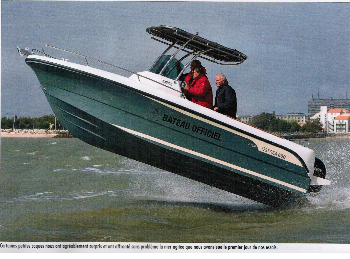 OSTREA 600 TTOP BOAT OF THE YEAR TEST